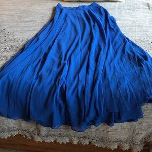 Morning Lavender Lucy Paris Blue Maxi Skirt